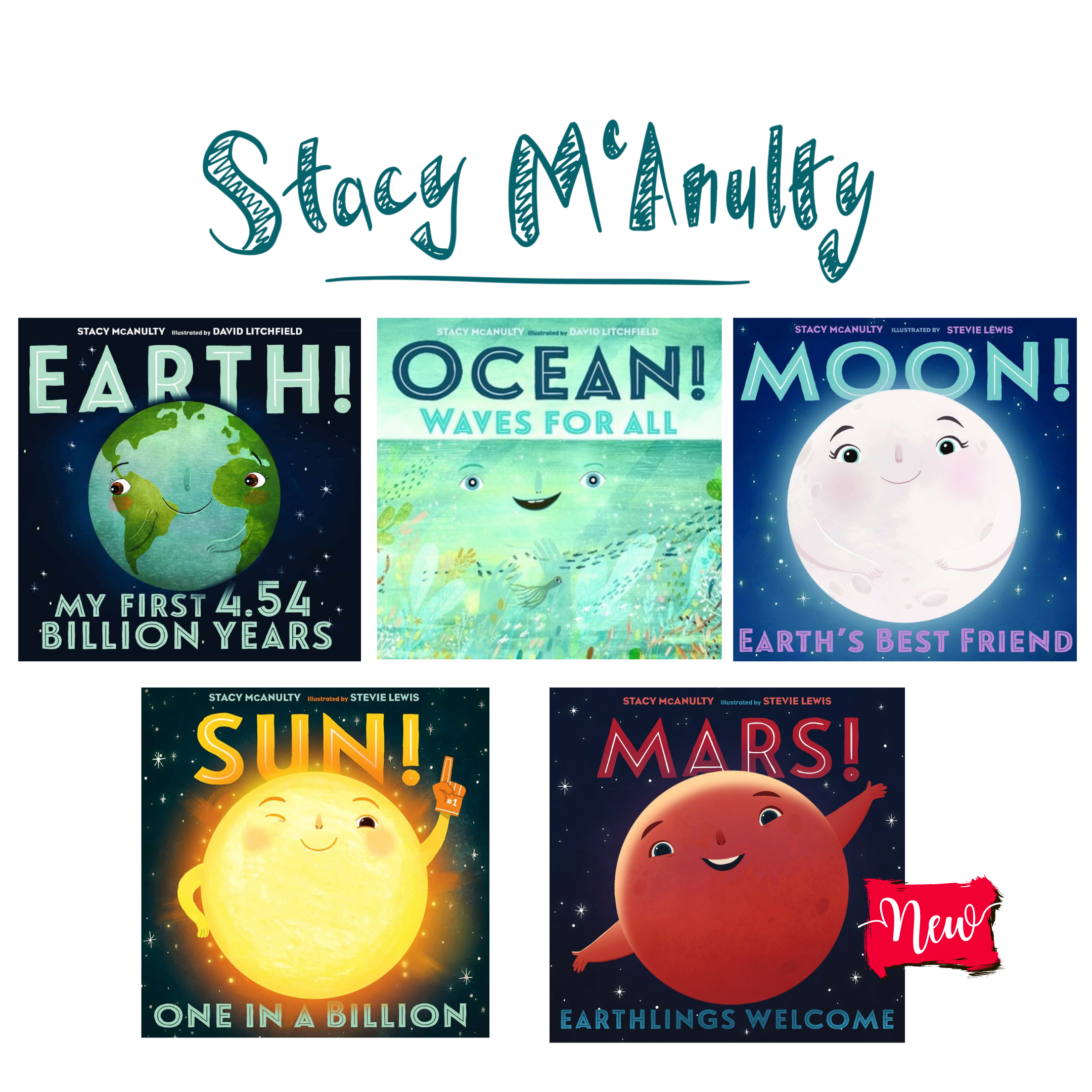 Our Universe Books by Stacy McAnulty